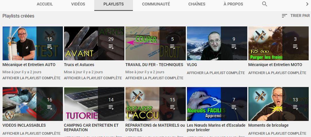playlists youtube